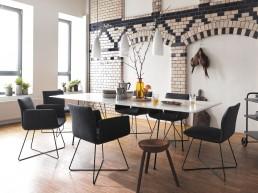 Cor JALIS - der Inbegriff von Design - ein Armlehnstuhl der Extraklasse